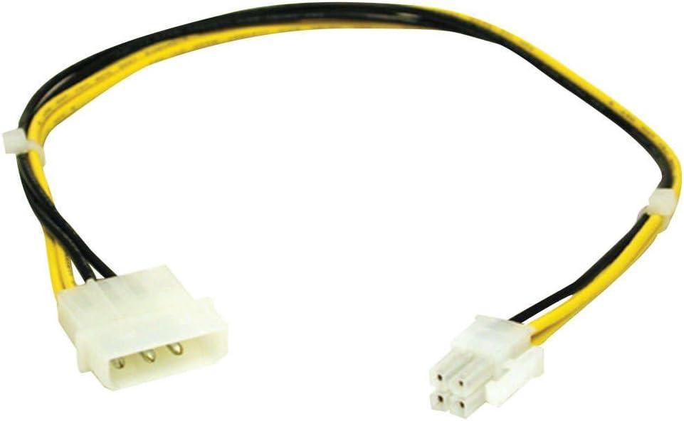 C2G ATX Power Supply to Pentium 4 Power Adapter Cable ATX 4-Pin Molex Adaptador de Cable - Adaptador para Cable (ATX 4-Pin, Molex)