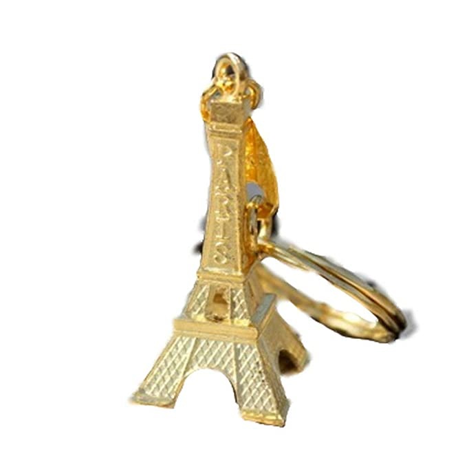 AGGIEYOU París Retro Torre Eiffel Llavero Llavero Mujeres ...