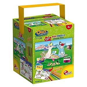 Lisciani Giochi 52905 Puzzle In A Tub Maxi Oggy E I Maledetti Scarafaggi 120 Pezzi Multicolore