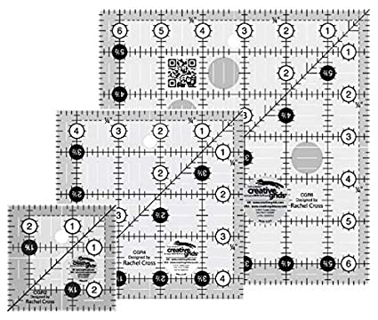 Creative Grids 12.5 Square Quilting Ruler Template CGR12