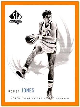 8bf6546d247167 2010-11 SP Authentic  19 Bobby Jones NORTH CAROLINA TAR HEELS PHILADELPHIA  76ers at Amazon s Sports Collectibles Store