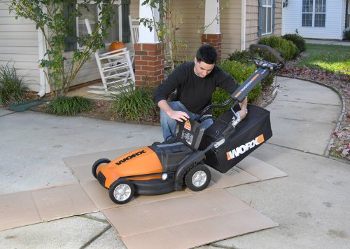 WORX WG788 19-Inch 36 Volt Cordless 3-In-1 Lawn Mower With Removable Battery & IntelliCut Review