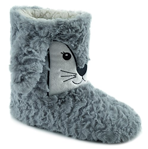 Slippers Ladies Plush Animal Boot Bunny FT0135 Pq8t6xq