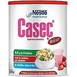 CASEC, Suplemento Alimenticio, Proteína en Polvo, 300g,