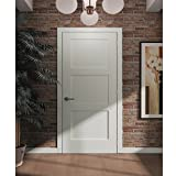 3-Panel Door, Kimberly Bay Interior Slab Shaker White 80 in. x 32 in.