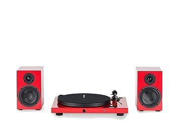 Pro-Ject Juke Box S SB4 HiFi Juego Rojo: Amazon.es: Electrónica