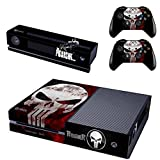Cheap Vanknight Vinyl Decal Skin Sticker Cover Skull Punisher for Xbox One Console Kinect 2 Controllers