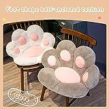 Cute Seat Cushion, Cute cat paw Plush Pillow Plush