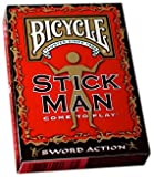Bicycle Stickman Playing Cards