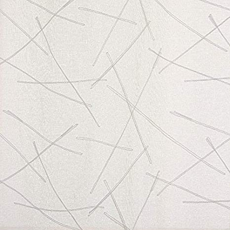 Deconovo Voile Visillos Dise/ño L/íneas Efecto Lino con Ojales 132 x 160 cm Beige