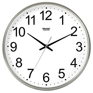 Round The Living Room Ideas Wall Clock Office Clock Simple And Modern Family Silent