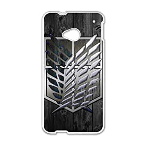 Attack On Titan for HTC One M7 Cell Phone Case & Custom Phone Case Cover R13A652083