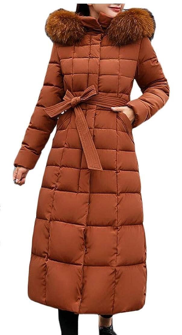 3 omniscient Women Thicken Down Hooded Coat Long Parka Puffer Jacket Puffer Coat