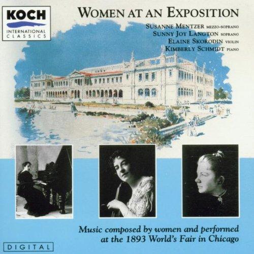 Women at an Exposition: Music Co...