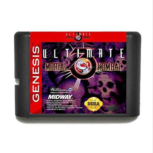Taka Co Ultimate Mortal Kombat 3 16 bit SEGA MD Game Card For Sega Mega Drive For Genesis, Try It Now