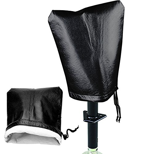 "Waterproof Electric Tongue Jack Protective Cover, Medium Size:10.5""x 13.75"""