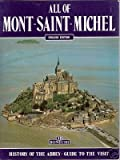 Front cover for the book All of Mont Saint Michel by Nicolas Simonnet