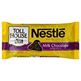 Nestle Toll House Milk Chocolate Morsels, 11.5 Ounce Packages (Pack of 6)