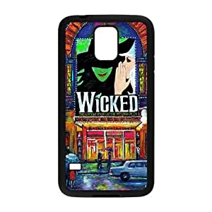 YUAHS(TM) Custom Case for SamSung Galaxy S5 I9600 with Musical Wicked YAS959845