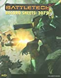 BT Record Sheets 3075, Catalyst Game Labs Staff, 1934857521