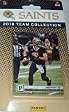 New Orleans Saints 2018 Panini Factory Sealed NFL Football Complete Mint 13 Card Team Set with Drew Brees, Alvin Kamara and 3 Rookie Cards plus