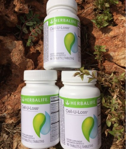 Herbalife Cell-U-Loss 3-Bottle Special Weight Loss Enhancer Natural Detoxification and Healthy Elimination of Water