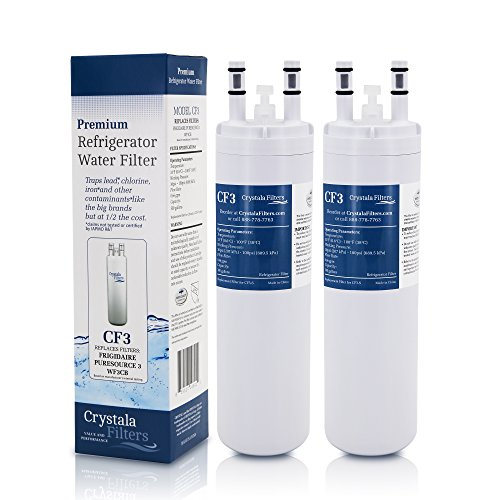 Crystala Filters CF3 WF3CB Compatible with Pure Source 3 Ref