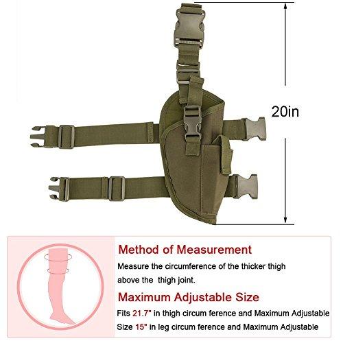 SHOPUS | GVN Drop Leg adjustable Tactical Leg Holster Pistol
