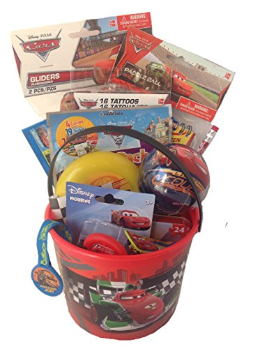 Disney CARS Small Bucket of Fun Gift Set