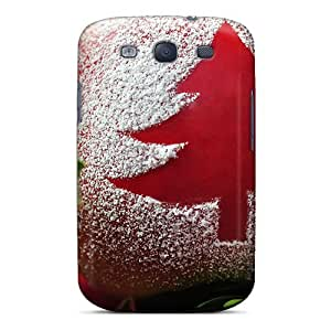Durable Protector Case Cover With Christmas Tree Ab Hot Design For Galaxy S3