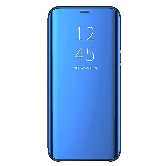 buy popular 16c98 cc584 Amazon.com: Case Compatible Samsung Galaxy A50 Cover Mirror Clear ...
