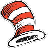 """Eureka Dr. Seuss The Cat in the Hat Paper Cut Outs for Schools and Classrooms, 36pc, 5.5"""" W x 5.5"""" H"""