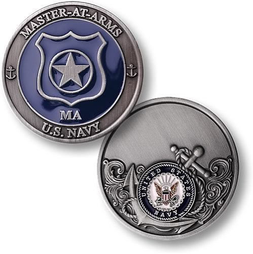 Navy Arms Master (Northwest Territorial Mint Navy Master at Arms Enamel)