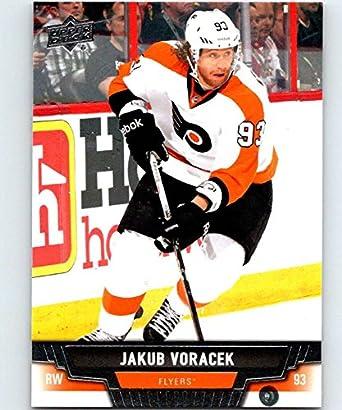 2018-19 UD MVP Silver Script #88 Jakub Voracek Philadelphia Flyers Upper Deck 18-19 Hockey Card