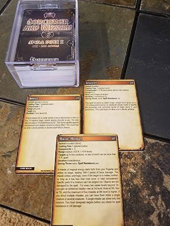 Amazon.com: Sorcerer/Asistente Hechizo Baraja I [Pathfinder ...
