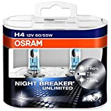 H4 / 9003 / 472 OSRAM Nightbreaker Unlimited