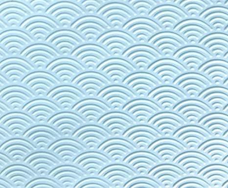 Placa de textura para FIMO Modelo de Jap/ón