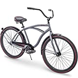 26'' Huffy Fairmont Mens Cruiser Bike, Gray, Perfect Fit Frame