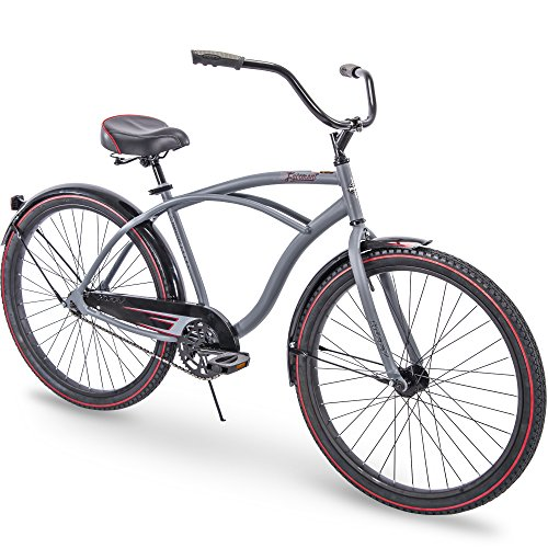 Huffy 26 Fairmont Mens Cruiser Bike, Gray, Frame