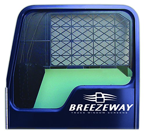 Breezeway Screens #2 Black Full Sized Truck Window Screen