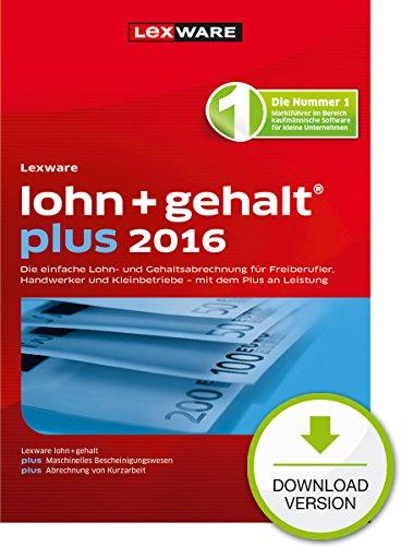 Lexware lohn+gehalt plus 2016 [PC Download]