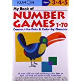 My Book Of Number Games 1-70 (Kumon Workbooks)