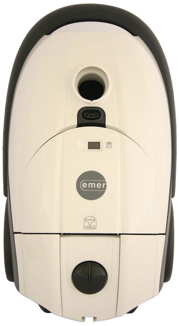 EmerTR010002 Galileo Pet Parquet 12 amp 1400 Watts Hepa Canister Vacuum White - Corded