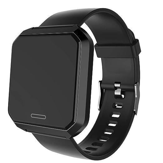 Reloj Inteligente Dicomi Reloj Deportivo, Monitor de Ritmo cardíaco, presión Arterial, sueño (