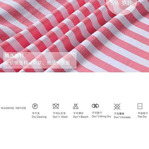 Cinturón Larga Manga Hombre Batas Stripes De Camisones Pink Albornoz Fashionista Ropa Fit Cuello Flecos Bolsillos Slim Stand Con Delanteros Noche z0CqxBz