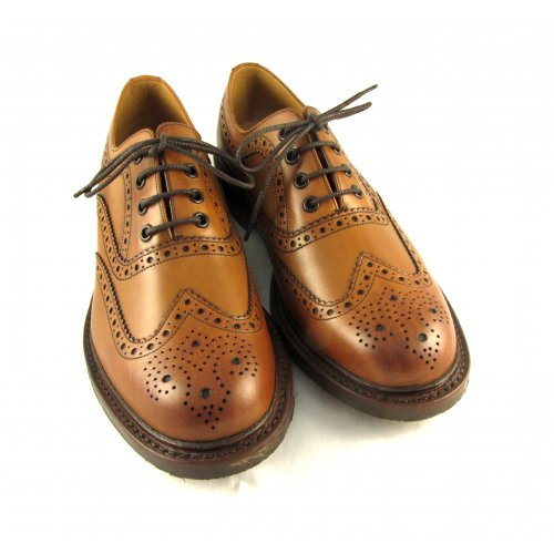 Loake, Mensen Brogue Lace Up Brogues Lichtbruin