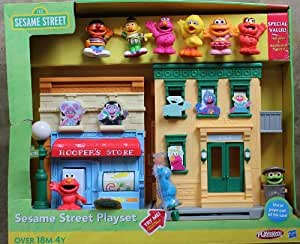 Sesame street playset playskool toys games for Playskool kitchen set
