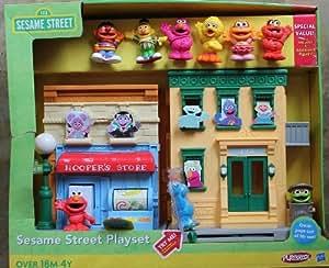 Sesame street playset playskool toys games for Playskool kitchen set