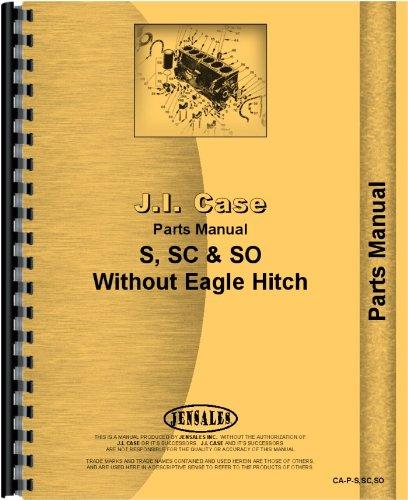 Case SC Tractor Parts Manual (SN# 4500001-5000001)
