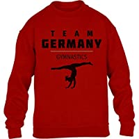 Deutschland Sportgymnastik - Team Germany Turnen Kinder Pullover Sweatshirt...